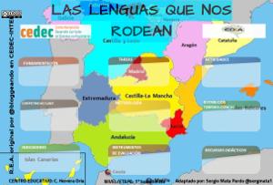 Portada Proyecto las Lenguas que nos rodean
