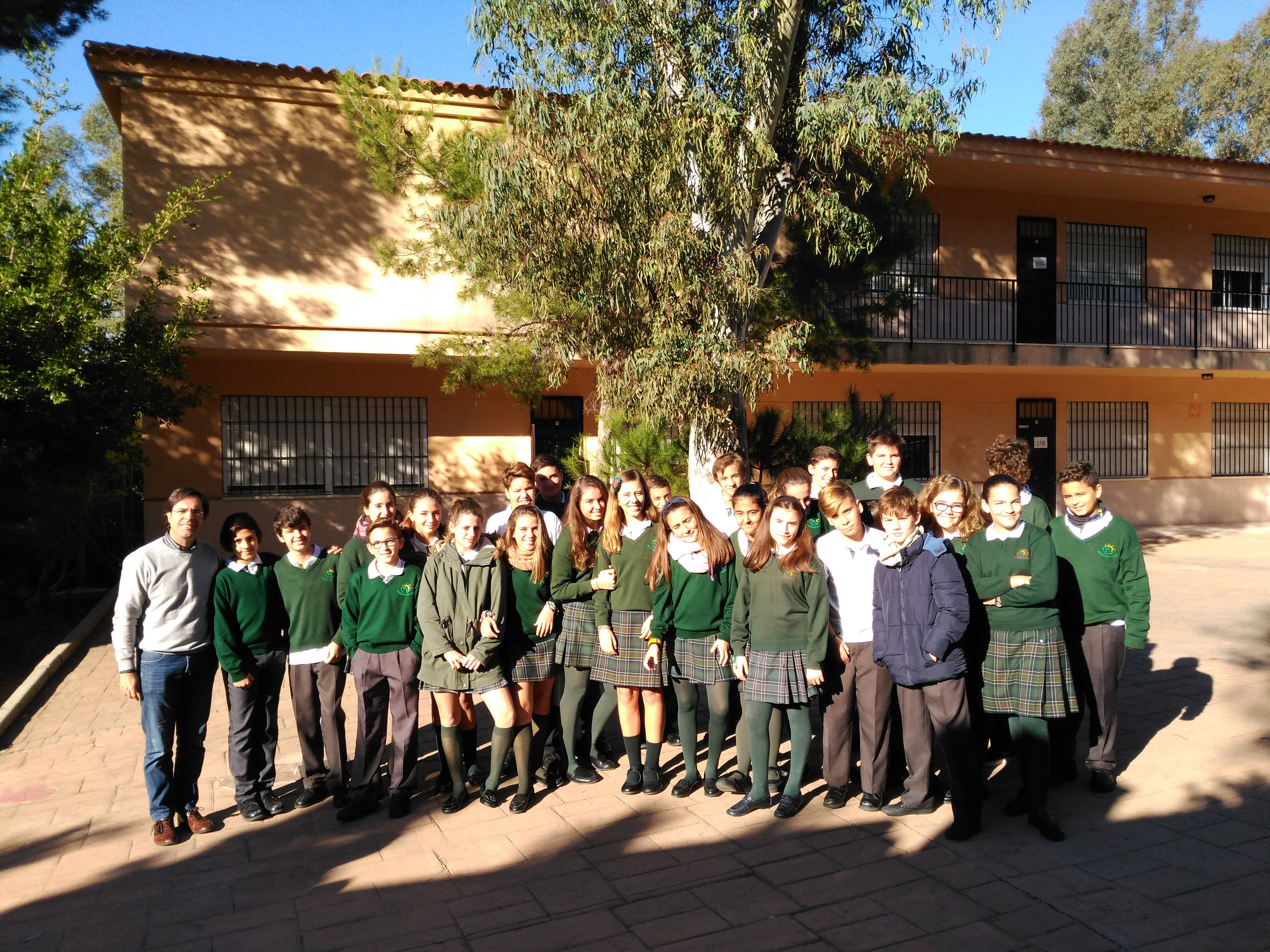 Colegio C. Herrera Oria. 1ESO (2017/2018)