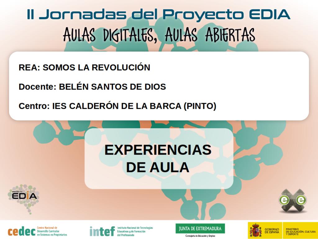 """Geografía e Historia. Secundaria y Bachillerato. REA """"Somos la revolución"""" (Proyecto Intercentros)"""