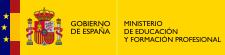 Logotipo de Gobierno de España. Ministerio de Educación y Formación Profesional