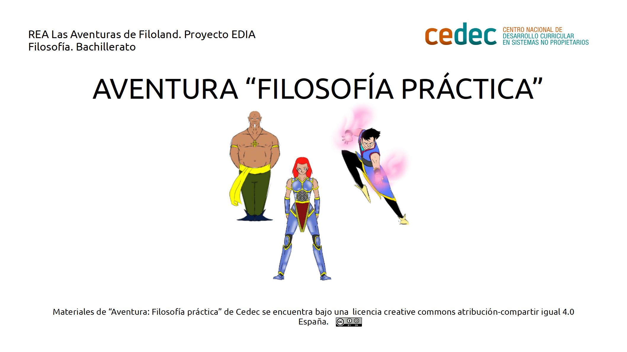 Imagen de la rúbricaAventura: Filosofía práctica